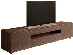 Australian designed entertainment unit from Australian Home Living. Walnut veneer with a black interior. High quality hardware and fittings.