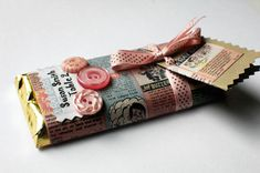 wedding candy bar wrappers using comic book pages... Perhaps Spider-Man??
