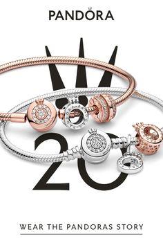 Pandora Bracelets, Pandora Jewelry, Pandora Charms, Charm Bracelets, Nail Jewelry, Jewellery, Wedding Mehndi Designs, Clip On Charms, Signature Collection