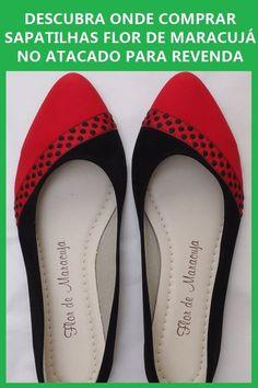 7b123e8ff8b64 Confira como comprar sapatilhas Flor de Maracujá no atacado! Essa é uma  marca de sapatilhas