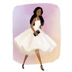 Black Girl Magic Illustration - Vashti Harrison  #iPhone #illustration