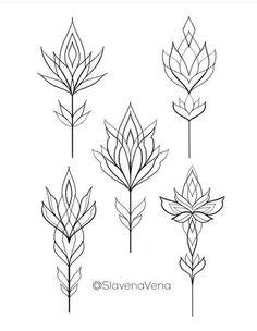 Tattoo Femeninos, Art Deco Tattoo, Doodle Tattoo, Lotus Tattoo, Chest Tattoo, Tattoo Drawings, Body Art Tattoos, Small Tattoos, Mandala Tattoo Design