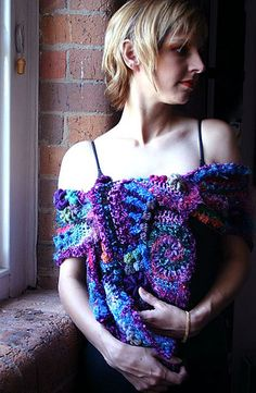 freeform wrap by Prudence by freeform by prudence, via Flickr