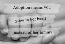 Love this adoption quotation!