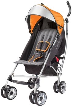 Summer Infant 2014 3D Lite Convenience Stroller, Tangerine