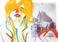 Looking: Neal Turner – Portrait de Laetitia Casta