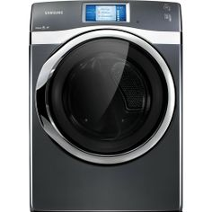 Samsung Appliances 7.5 Cu. Ft. Front-Load Electric Steam Dryer with Touch Screen LCD #Dryer #Samsung