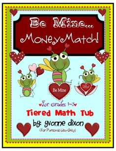 Happy Valentine's Day!  Your students will LOVE the sweet activities in this packet!  They are designed to help students recognize coins and their ...
