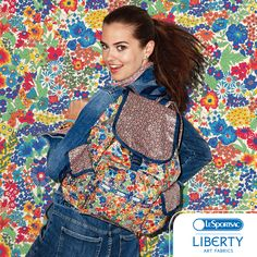 Well, this just made my day! LeSportsac + Liberty Art Fabrics are partnering in Spring 2015