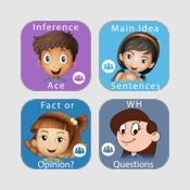 Reading Comprehension Mega Bundle: 10 Apps for Skill Development by Janine Toole