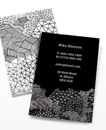 Moo - Business Card design 'Black & White'