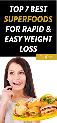 superfoods for rapid weight loss