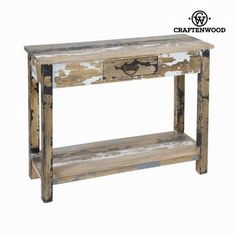 1 drawer hall stripped wood - Poetic Collection by Craften Wood