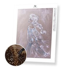 8361a6352f Elsa - Diamond Painting Kit. Elsa - Diamond Painting Kit – Home Craftology