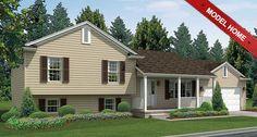 Split Level Custom Home Designs: The Lexington   Wayne Homes