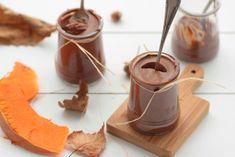 Mousse au chocolat vegan, sans sucre, sans beurre, courge et pois chiche