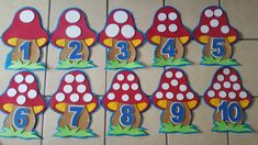 Preschool Numbers - New Deko Sites Preschool Learning Activities, Preschool Activities, Teaching Kids, Classroom Wall Decor, Classroom Walls, Math For Kids, Crafts For Kids, Maternelle Grande Section, Mickey Mouse Classroom