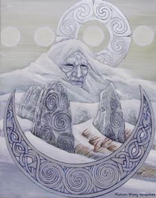Love of the Goddess: The Cailleach, Winter Goddess of the Celts