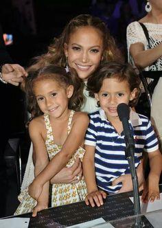 Jennifer Lopez & her kids