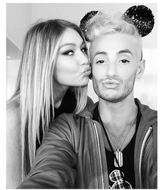 Frankie Grande and Gigi Hadid -- Coolest Celeb Selfies from the 2014 Radio Disney Music Awards | Twist #RDMAs