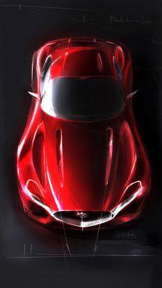 "biroandclay: "" Mazda RX-Vision Concept. """