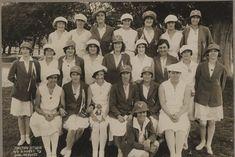 Victorian women's cricket team photographed in 1930