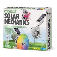 robot + carga solar
