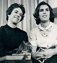 Carol Burnett and sister Chrissie
