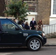 William and Kate leaving Only Connect