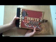 8x6 American Patriotic Mini-Album featuring K Americana collection - YouTube