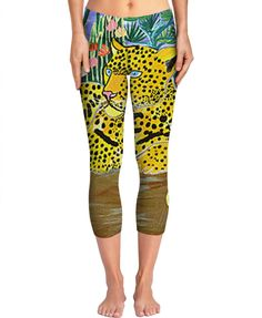 """Custom Yoga Pants: """"A new day in Paradise""""   Tiger, Jungle, geil, cool, super-sexy, ootd, outfitoftheday, fashionkilla, madewell, wiw, fashionaddict, styleguide, styleiswhat, styled, everydaymadewell, petitejoys, livecolorfully, passion-passport, thatsdarling, glam, instafashion, outfitpost, todayimwearing, mylook, photooftheday, happy, followme, like4like, instadaily, smile, style, life, bestoftheday, cat, instapic, design, instacool, home, instafollow, beautiful, love, fashion, tbt, sweet,"""
