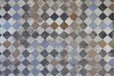 texture tiles floor morocco worn ornate old