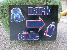 Star Wars Party Homemade Decorations | peekintomyparty
