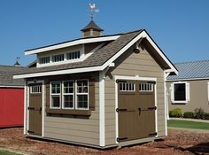 Your storage, your choice! Get your money's worth when it comes to great style and awesome features with our custom storage sheds.