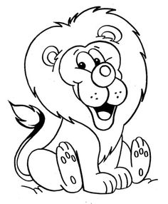 Lion Coloring Pages 2 3