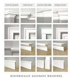 WindsorONE Moldings side by side comparison