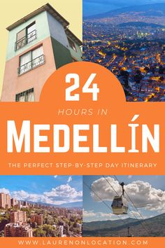 One Day in Medellin Colombia | The best things to do with limited time  Do you only have one day in Medellín? Fear not! I've created a Medellín travel guide that's packed all the best attractions (and a few hidden gems) into just 24 hours in the city!  This article includes what to see, do, eat and more!