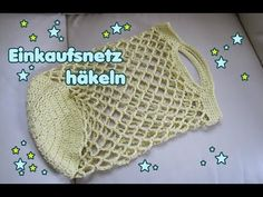 Häkelanleitung für ein Einkaufsnetz, Tasche häkeln