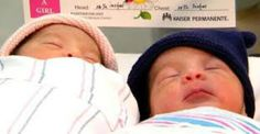 Twins Jaelyn and Luis Valencia were born on different days and different years! These twins were born right before and after the New Year.
