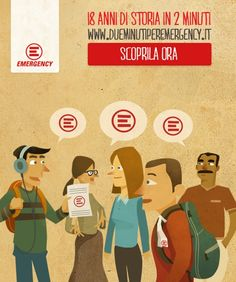 Due minuti per #Emergency : scopri 18 anni di storia su http://dueminutiperemergency.it