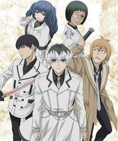 Tokyo Ghoul: re Kaneki, Dark Fantasy, Manga Anime, Anime Art, Mystery, Tokyo Ghoul Wallpapers, Horror, Anime Reccomendations, Anime Merchandise