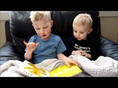 This is a video of my three year old signing and reading to his little brother.  Teaching them sign language is one of the best things I have done!