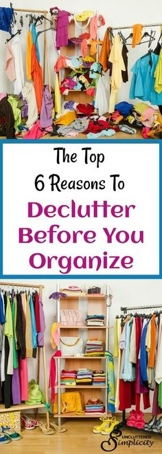 declutter before you organize   how to declutter your home   home organizing tips via @CherylLemily
