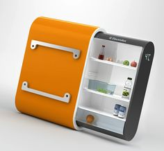solar powered fridge. This can come in handy