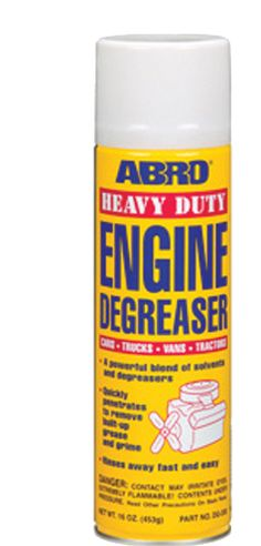 Abro DG-200 Heavy Duty #Engine Degreaser is a powerful blend of solvents and grease cutters that quickly penetrates to remove built-up grease and grime to keep your #car engines looking like new.