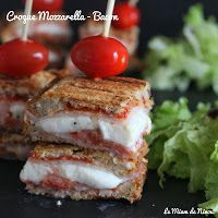Croque-monsieur Mozzarella & Bacon : A tester !