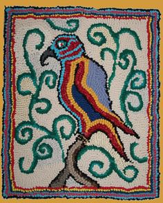 Persian Parrot - Lewis Creed