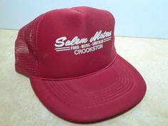 4d38d797537 NOS trucker hat baseball cap SALEM MOTORS FORD CROOKSTON retro snapback mesh   fashion  clothing  shoes  accessories  mensaccessories  hats (ebay link)