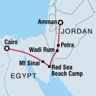 My ideal Jordan/Egypt Intrepid tour. The goal is October 2012. Fingers crossed!