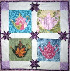 Four seasons teapots